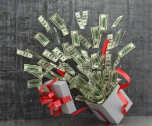 Gift of profits