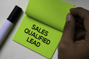 Sales Qualified Lead | Technology Marketing Toolkit