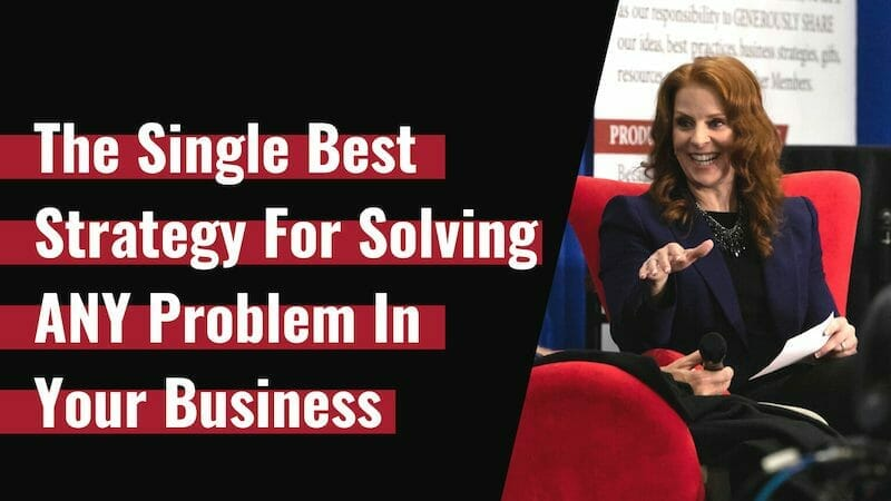The BEST Strategy for Solving Problems in Your IT Services Business